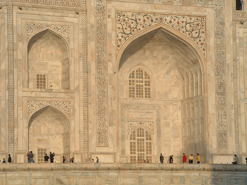 Marble inlay, Taj Mahal, Agra