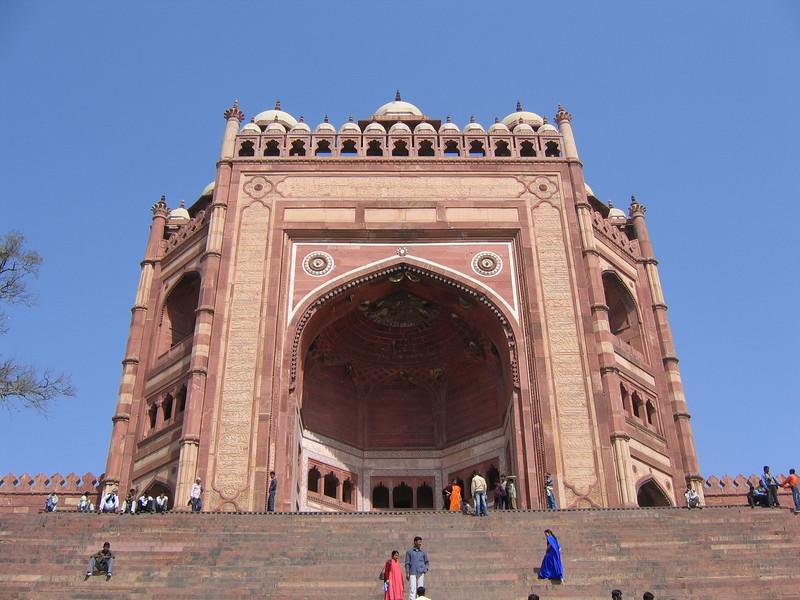Entrance to Fatephur Sikri, near Agra