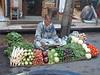 Vegatable seller, Chandni Chowk market, Old Delhi