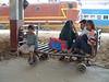 Waiting for the train, Sawai Madhopur