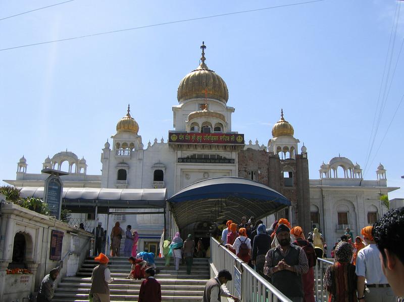 Bangla Sahib Qurudwara (Sikh temple), Delhi