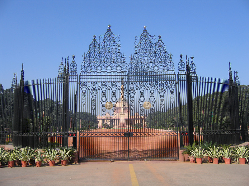 Entrance to Presidential Palace, Delhi