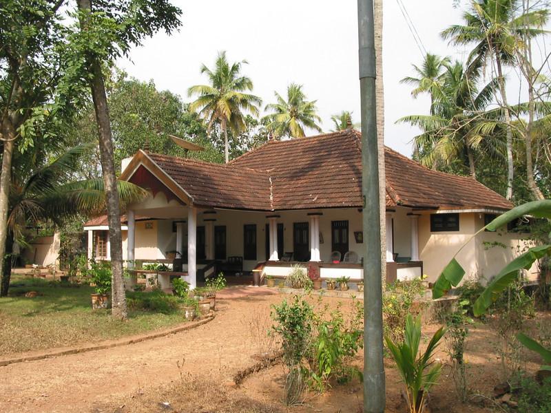 Ravimangalam: Vidya's grandfather's house in Chingavanam, Kerala, India
