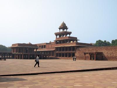 Building inside  Fatehpur Sikri