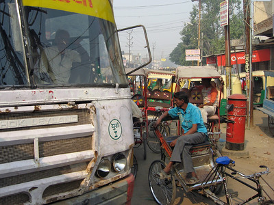 City life in Agra