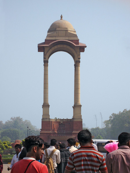 Structure across India Gate