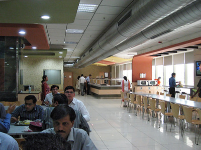 Another view of the UHG cafeteria, it is huge!