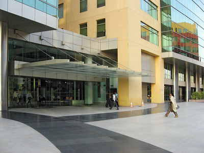 The building where the UHG India folks are located