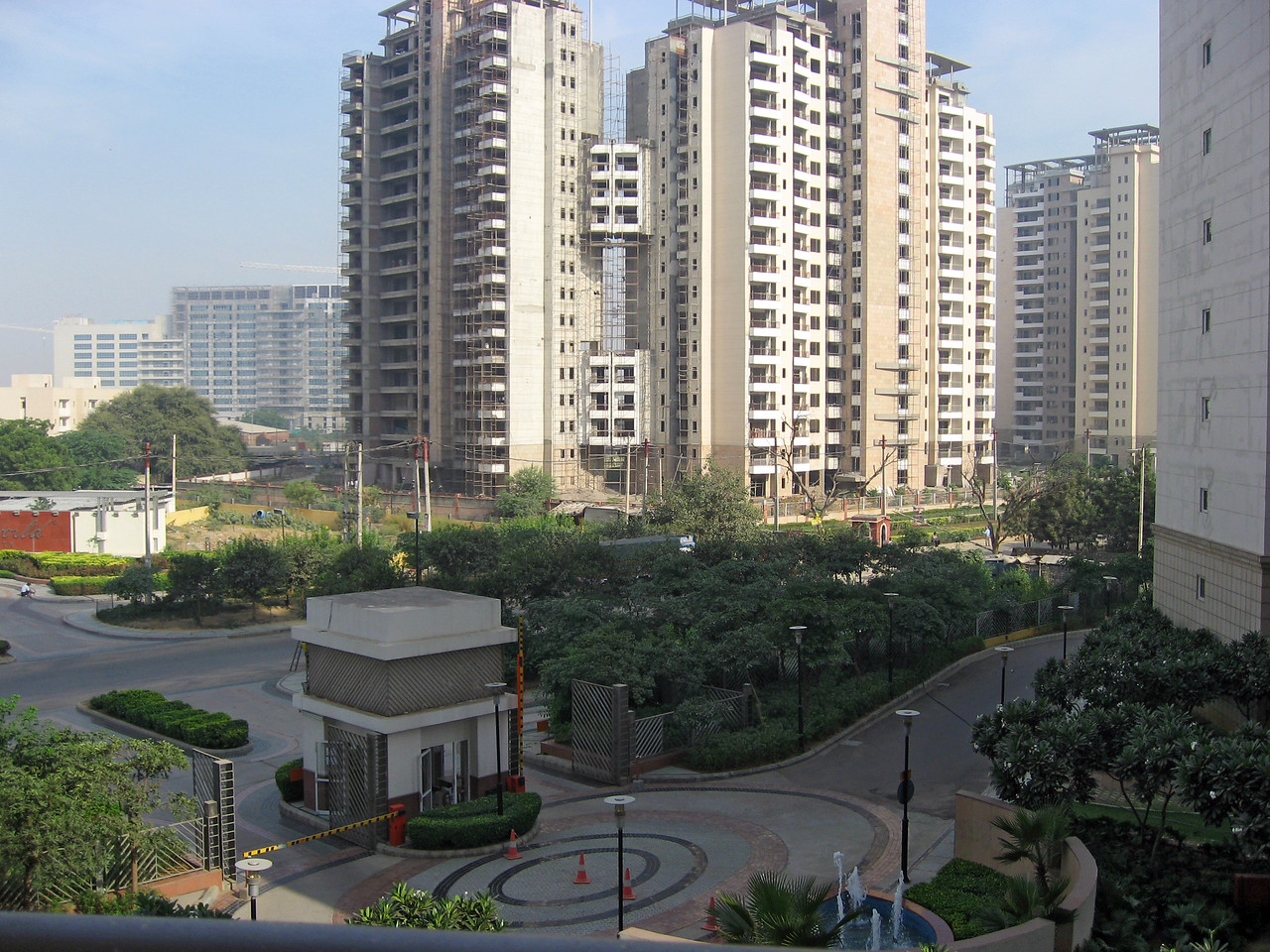 UHG company guest house, view from my room (Building E, 3rd floor)