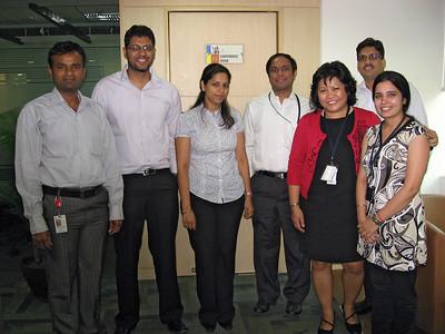 The PRDS O&M Team - Amar Poka, Kunal Kapoor, Tanya Malik, Dron Jaroria, Chetan Tople, and Jyoti Dalal