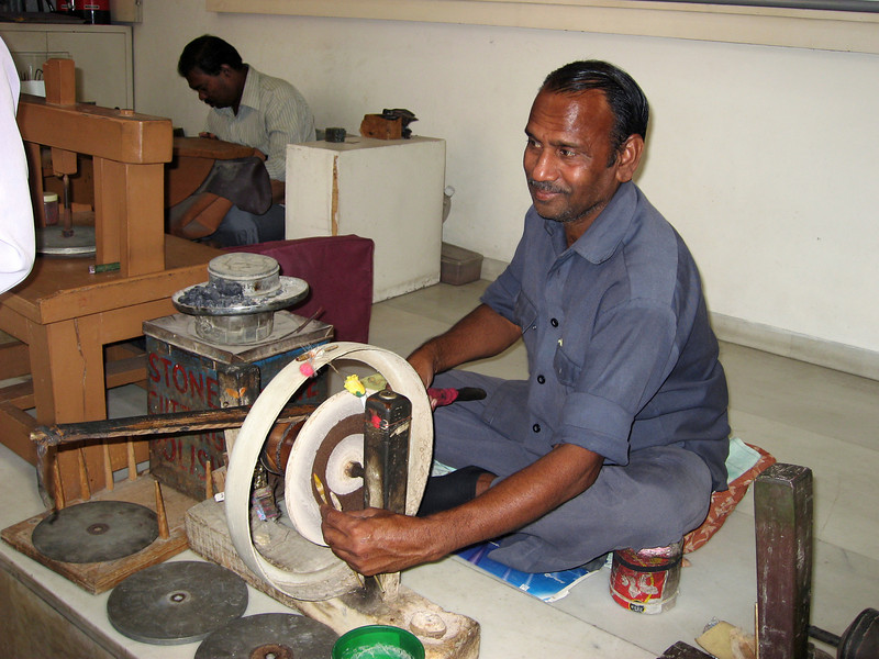 Then I went on my own tour of rug making in Jaipur