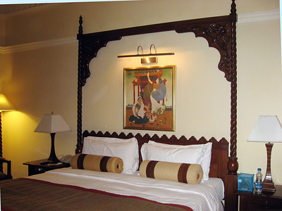 The room at Taj Hari Mahal Hotel in Jodhdpur