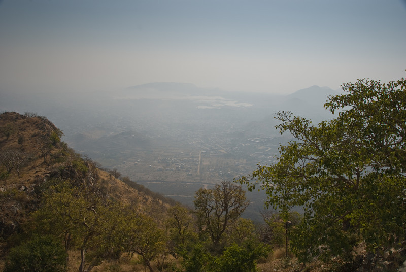 The view from Sajjan Garh