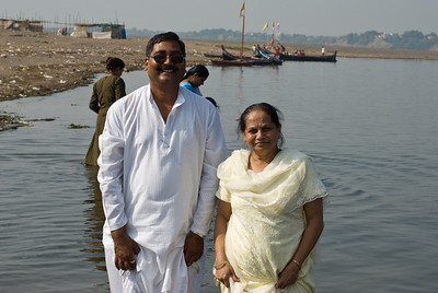 Ajaykaka and Mom