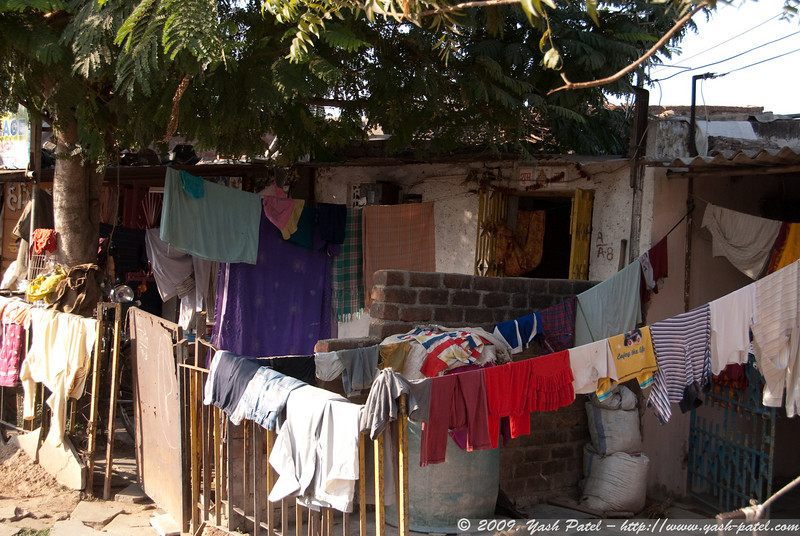 A more earth-friendly option to dry clothes.