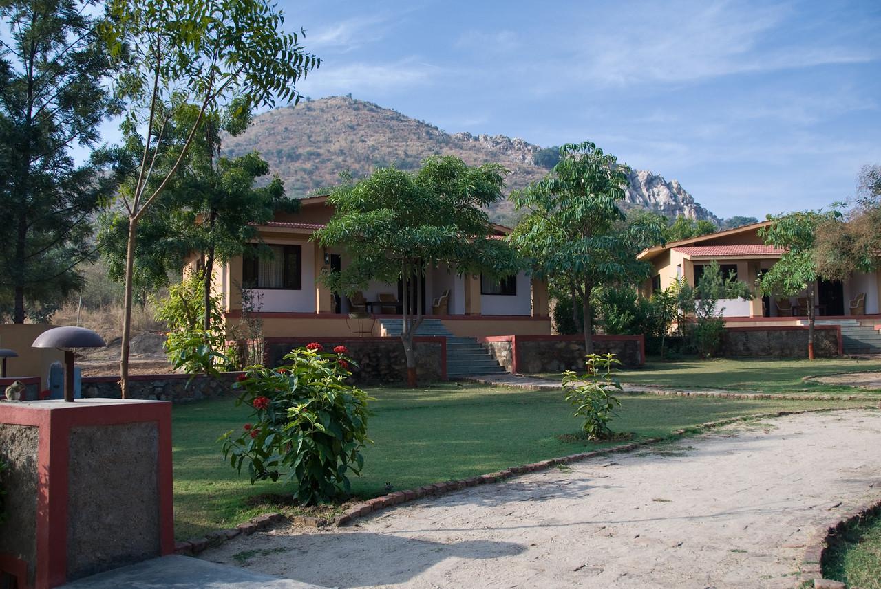 Our bungalow. Each building has 2 guest rooms.