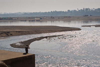 The Narmada River.