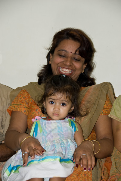 Anuja and her neice Kamya