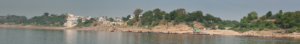 Chandod from the river.