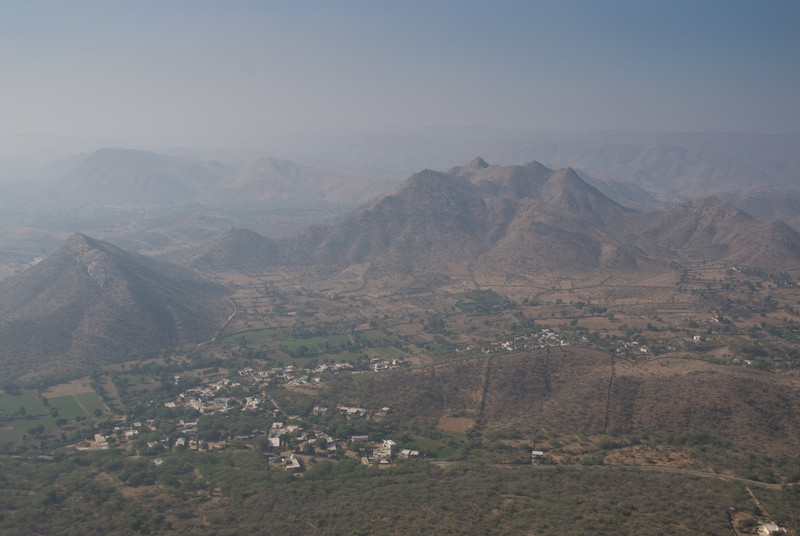 The valley below Sajjan Garh