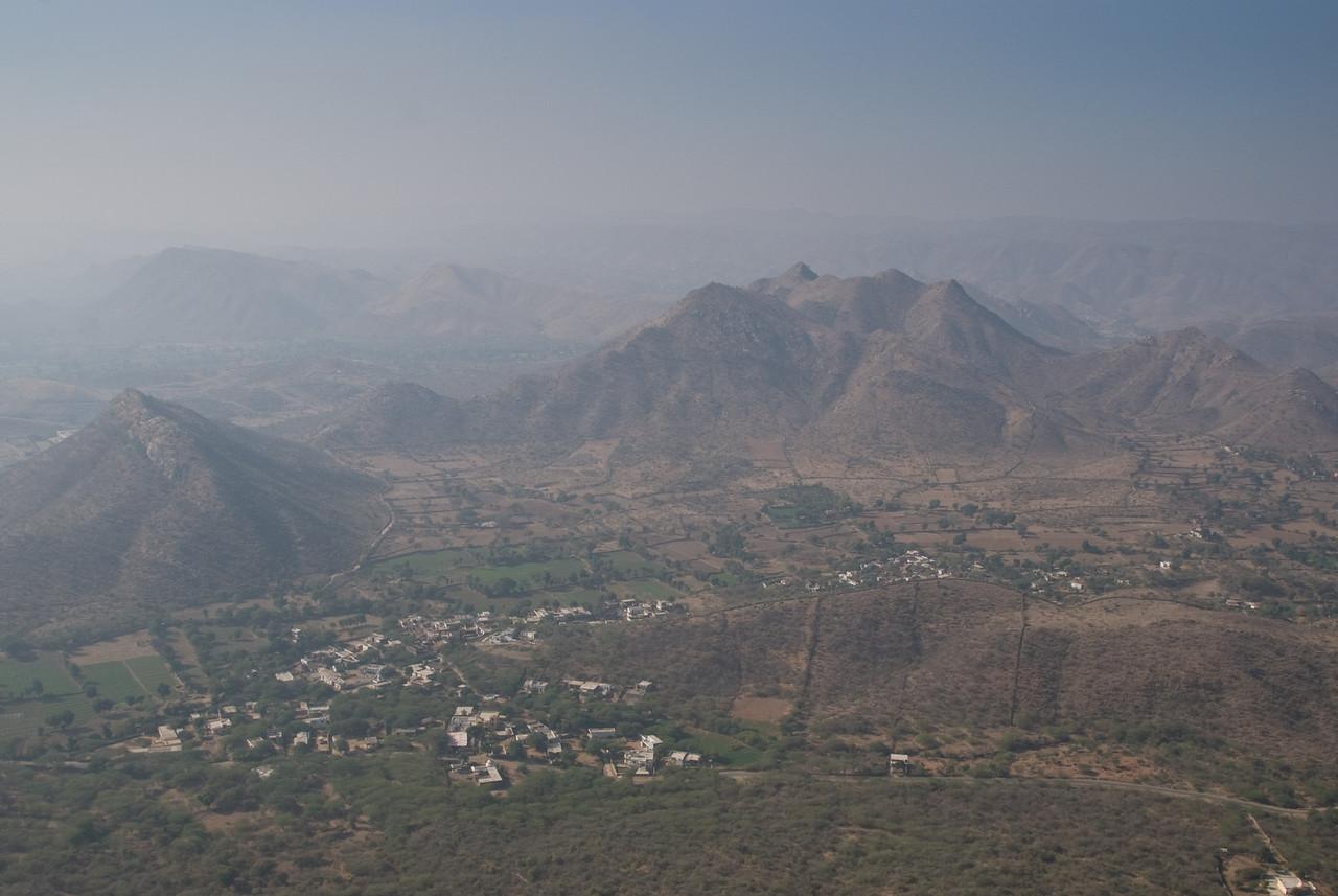 The valley below Sajjan Garh