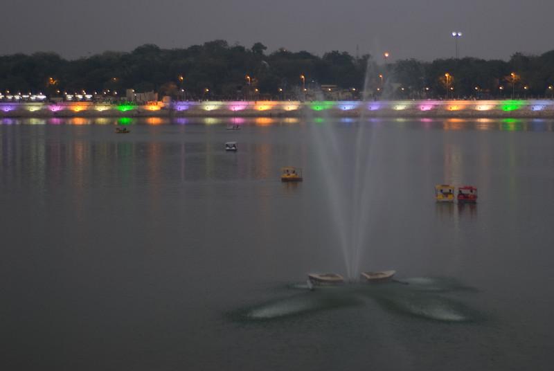 An evening stroll around Kankaria Lake, Ahmedabad.
