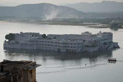The Lake Palace. Now a hotel.