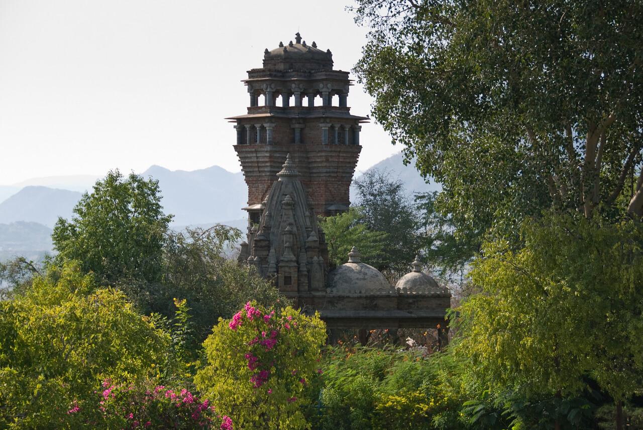 A temple at Moti Mahal.