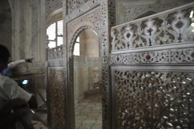 Taj Mahal - inner chamber
