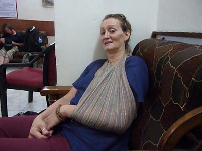 Irene Cabay wounded