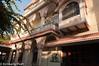 Courtyard of MadhuBan Heritage Hotel.