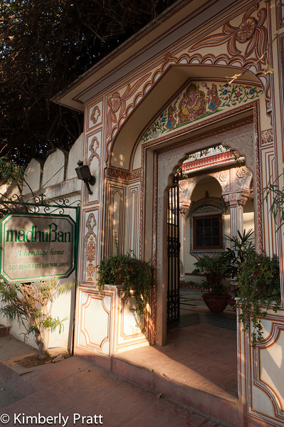 "Our hotel in Jaipur, MadhuBan Heritage Hotel (  <a href=""http://www.madhuban.net"">http://www.madhuban.net</a> )."