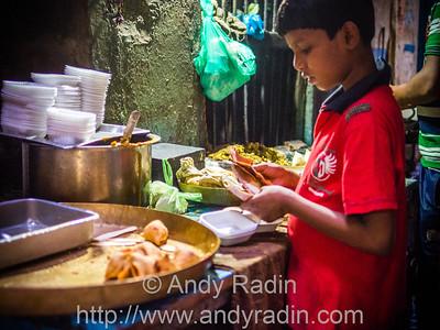 Street vendors, Varanasi, India