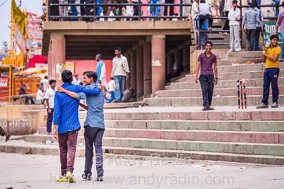 Cricket ghat, Varanasi, India