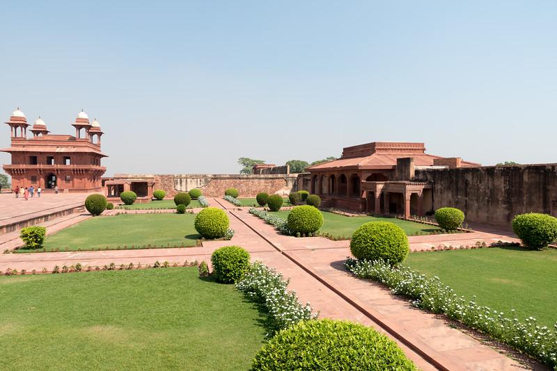 Pachisi Courtyard