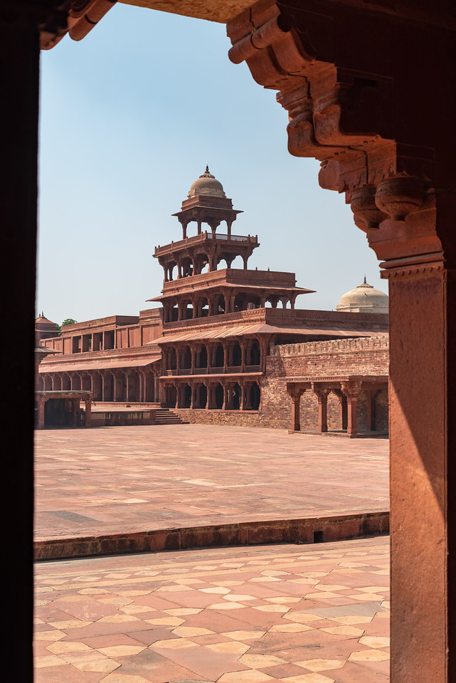 Panch Mahal and Courtyard