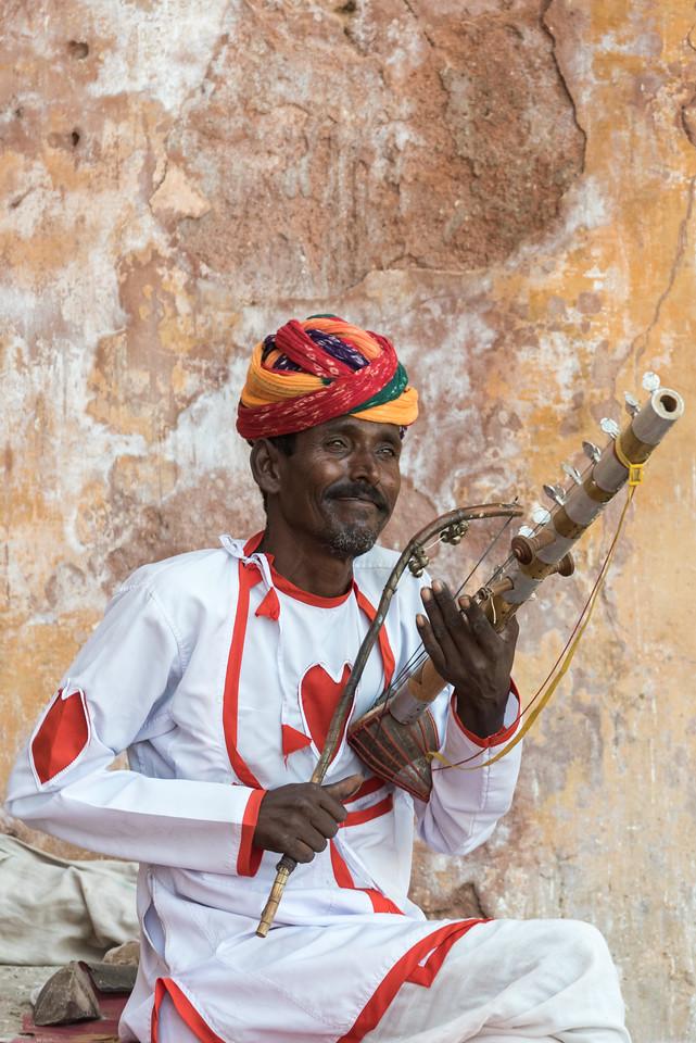 Musician, Amer Fort