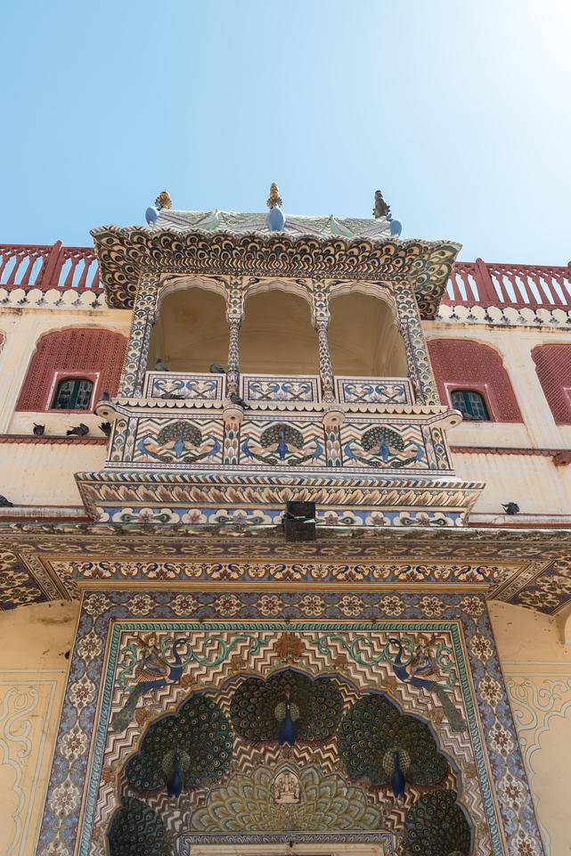 Peacock Gate, City Palace