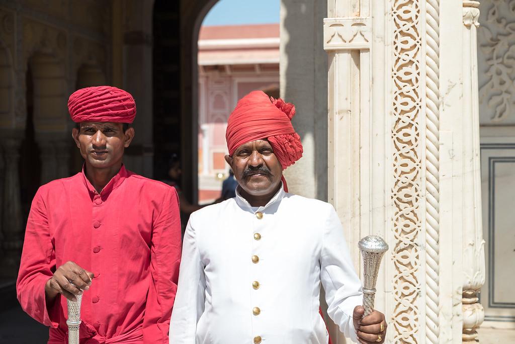 Palace Guards, City Palace