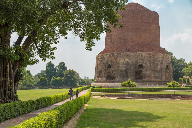 Dhamek Stupa, Sarnath
