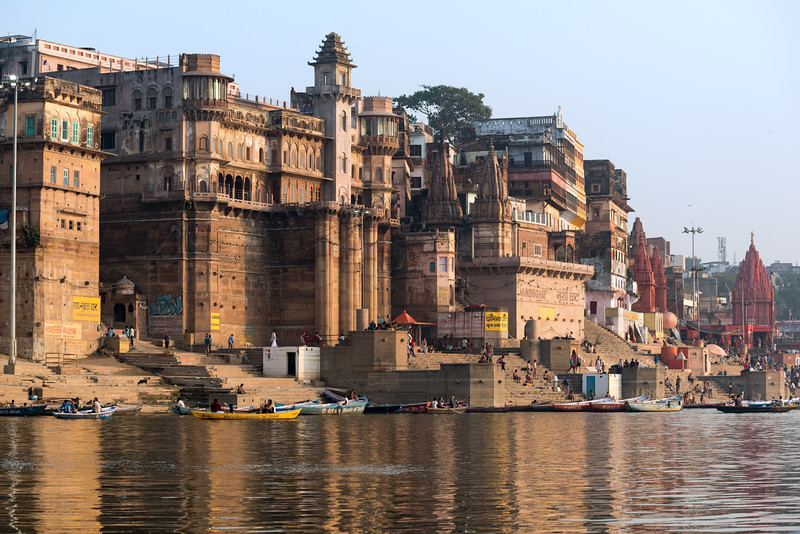 Sunrise Boat Tour on the Ganges