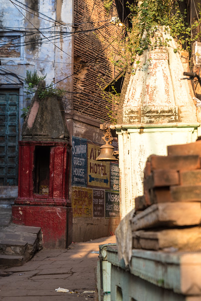 Tiny Temple in Varanasi