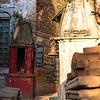 Tiny Temple in Varanasi