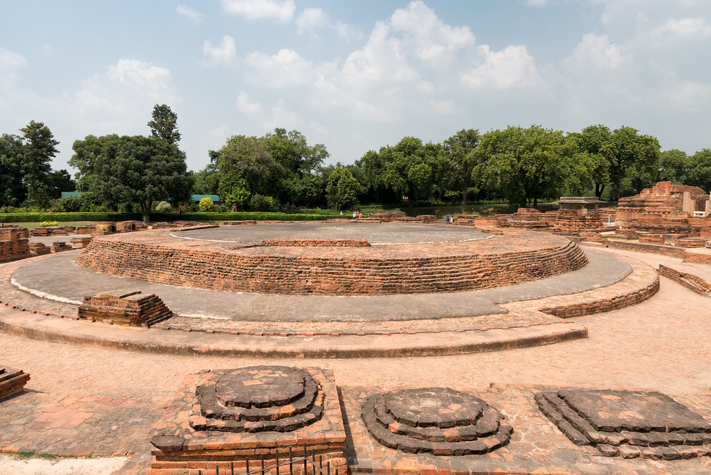 Ruins of the Mulagandhakuti Vihara