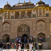 Facade of Amer Fort