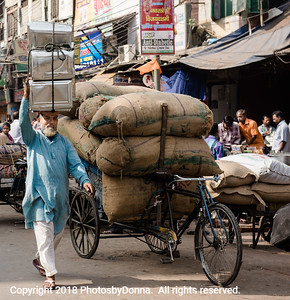Carrying goods from here to there