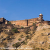 Walls of Amer Fort