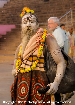 Holy Man at the Ganges