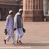 Worshipers at the Jama Masjid