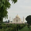 This was the first glimpse I got of the Taj Mahal, from a park located across the river (Methab Bagh).  It was incredible...